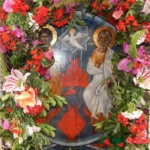 Μεταφορά Εικόνας Αγίας Τριάδος Μελιγούς.