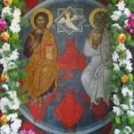 Η εορτή της Αγίας Τριάδος στη Μελιγού.